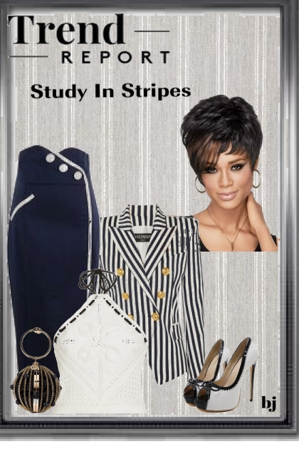 Trend Report--Study in Stripes