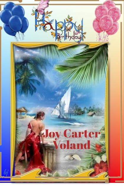 Happy Birthday Joy Carter Voland!