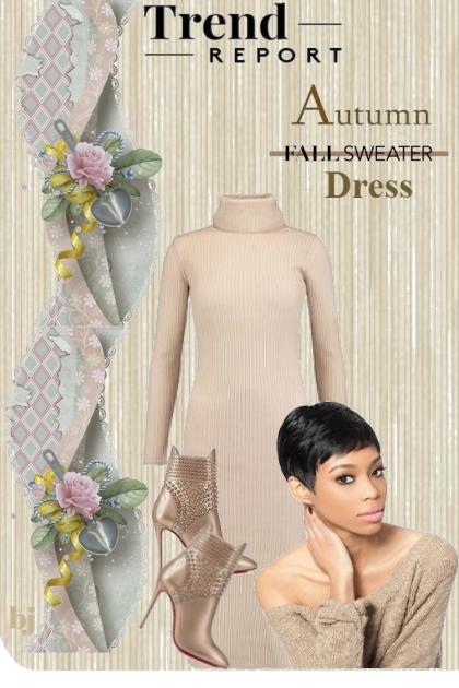 Trend Report--Sweater Dresses