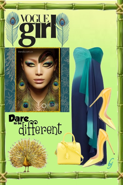 Vogue Girl--Dare to be Different