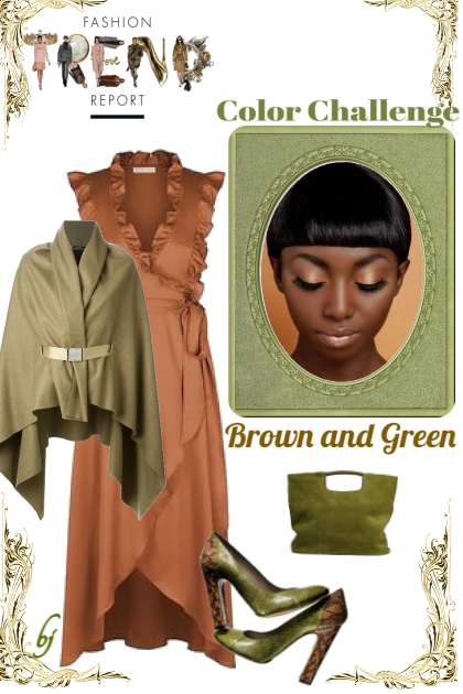 The Trend Report--Brown and Green