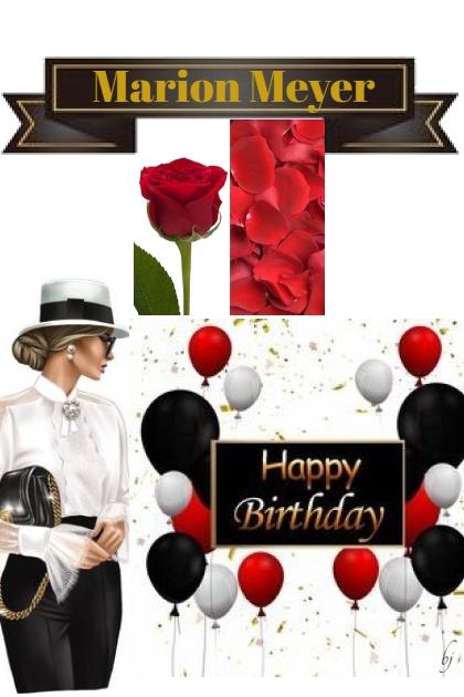 Happy Birthday Marion Meyer!!- Fashion set