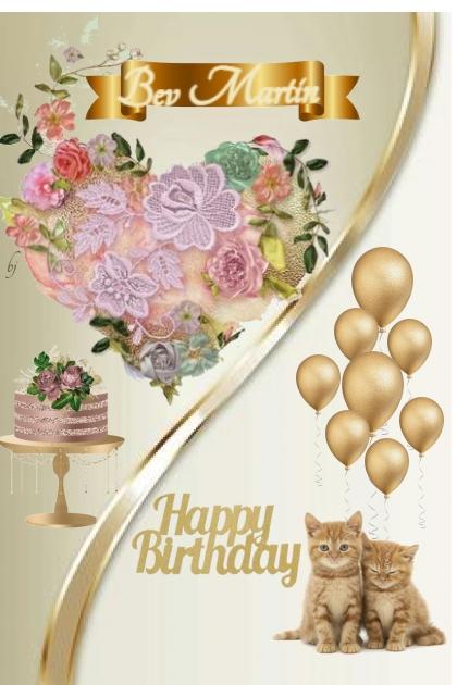 Happy Birthday Bev Martin