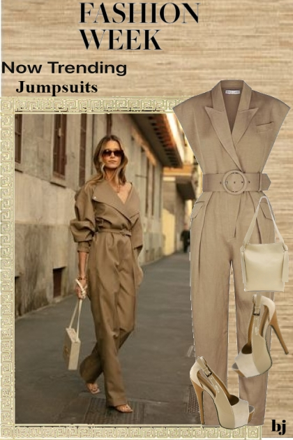 Fashion Week-Now Trending-Jumpsuits
