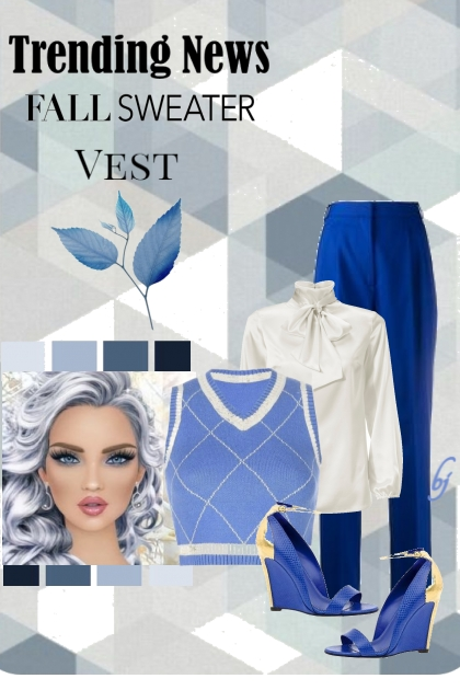 Fall Sweater Vest