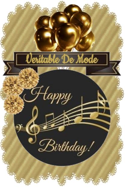 Happy Birthday Veritable De Mode!!