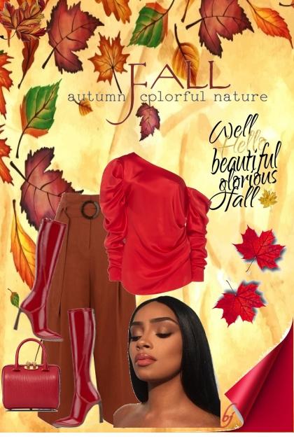 Fall--Autumn Colorful Nature...