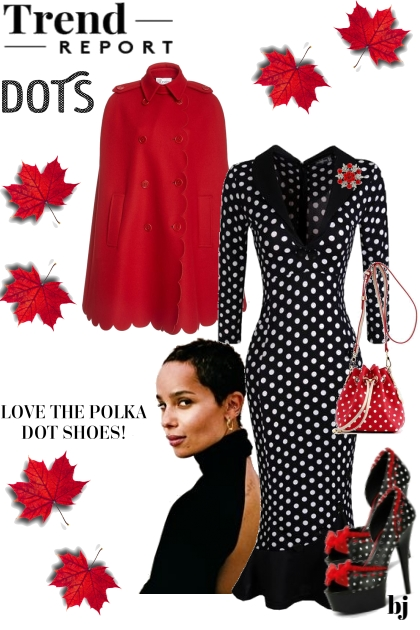 Trend Report--Dots for Fall