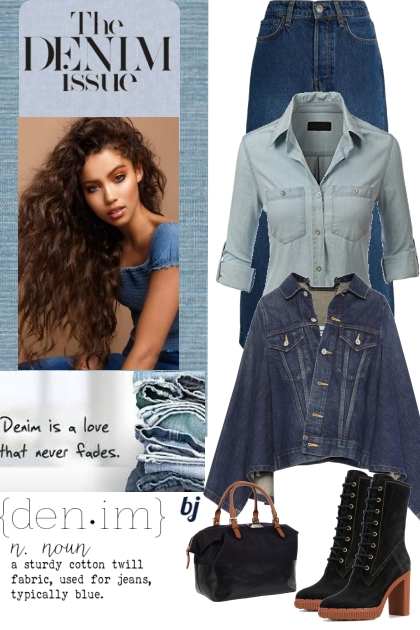 Denim is a Love That Never Fades.......