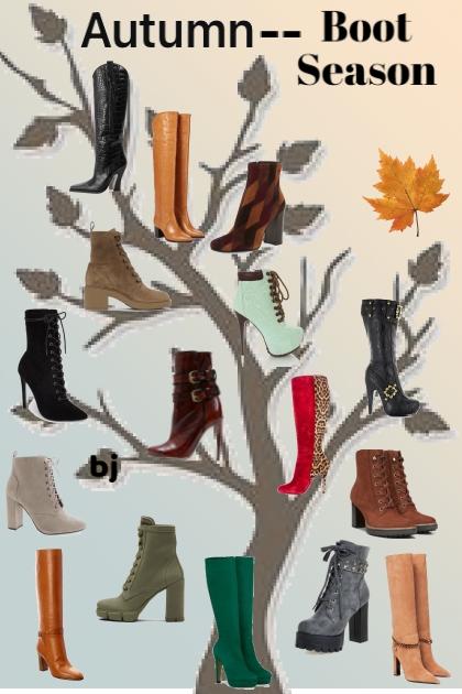 Autumn--Boot Season