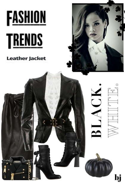 Fashion Trends--Leather Jacket