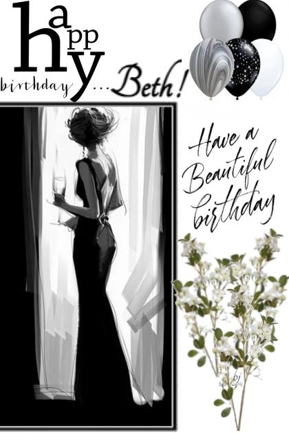 Happy Birthday Beth!