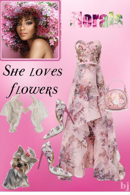 Florals--She Loves Flowers
