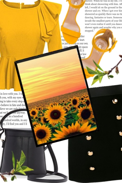 Sunflower color !!