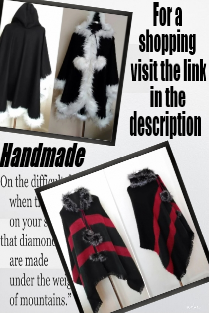Handmade&Vintage Women Clothing and Accessories