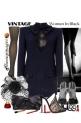 Woman in Black by Sheniq