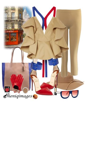 Boardwalk Chic by Sheniq- Fashion set