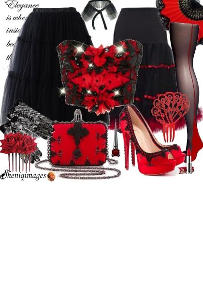 Flamenca Chic by Sheniq