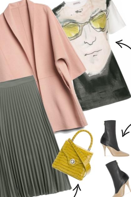 Splash of Color- Combinazione di moda