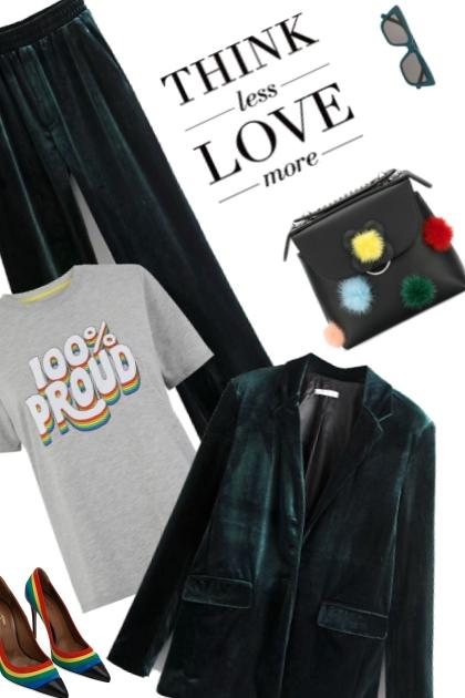 Velvet Pride- Combinaciónde moda