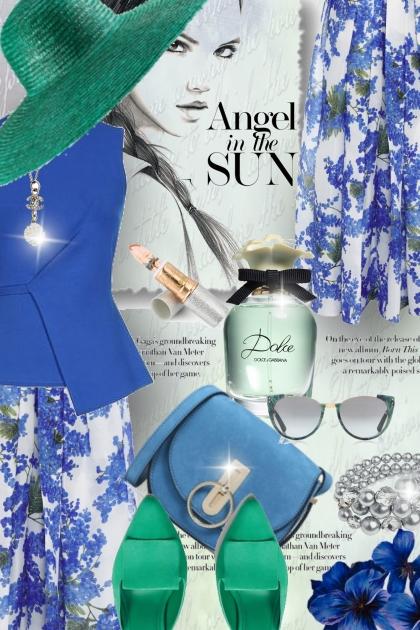 Angel in the Sun....