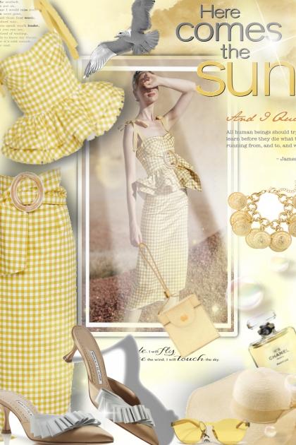 Here comes the sun...- Fashion set