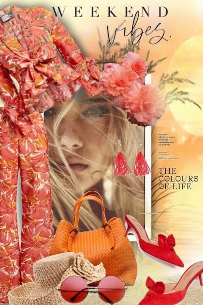 Τhe colours of life- Combinazione di moda