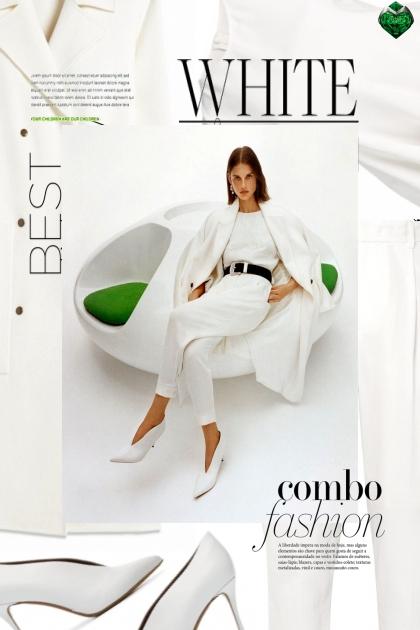 White combo- Fashion set