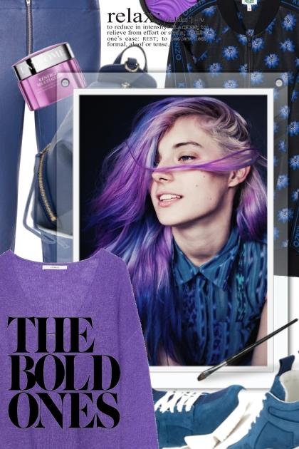 Purple & K