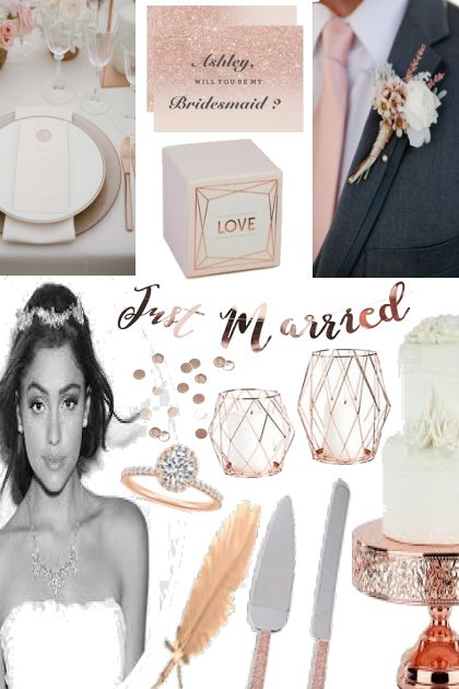 Rose Gold Wedding!