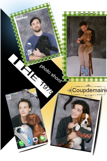 1975 puppy photo shoot