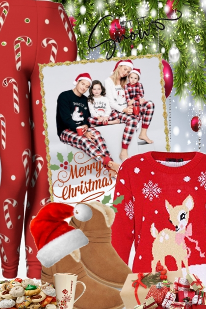 MERRY CHRISTMAS....- Fashion set
