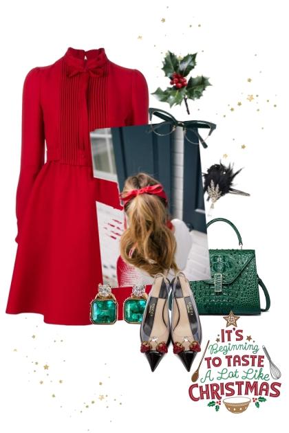 Christmas night- Fashion set