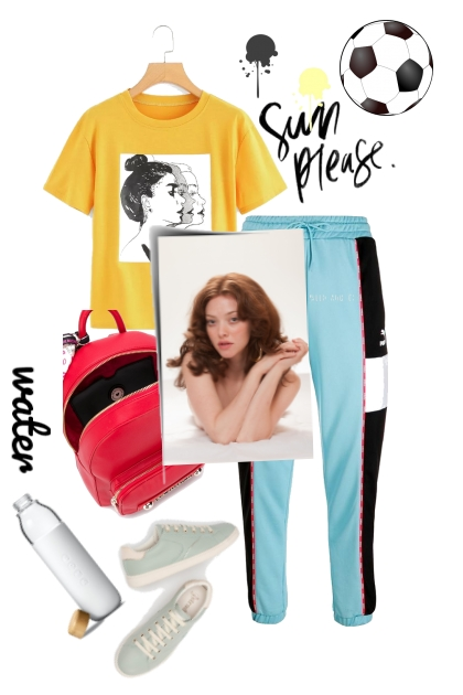 Sporty- Fashion set
