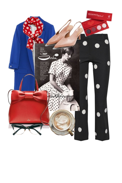 Trendy with dots- Fashion set