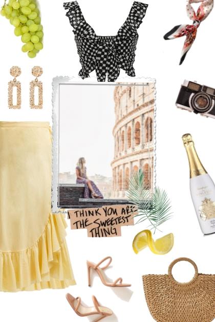 Rome- Modna kombinacija