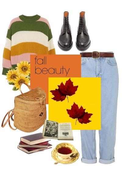 fall beauty- Modna kombinacija