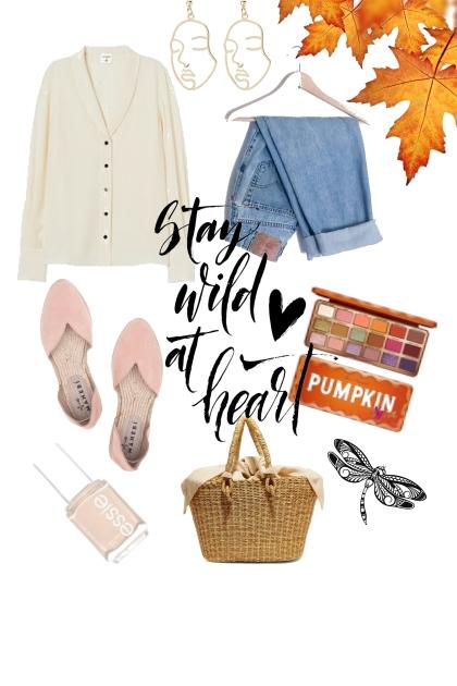 Fall's school day- Modna kombinacija