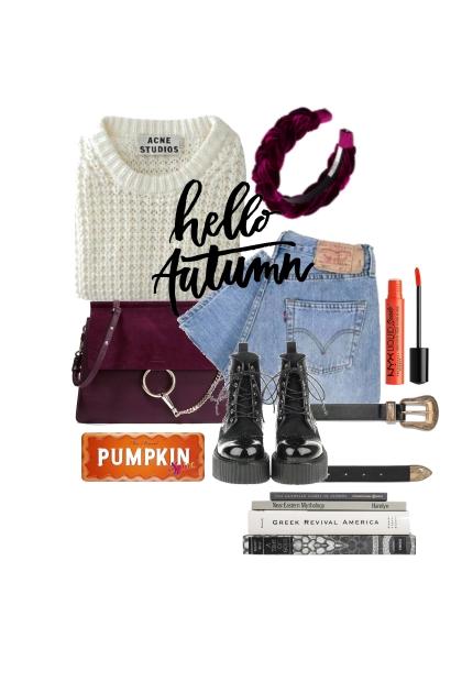 Pumpkin girl- Modna kombinacija
