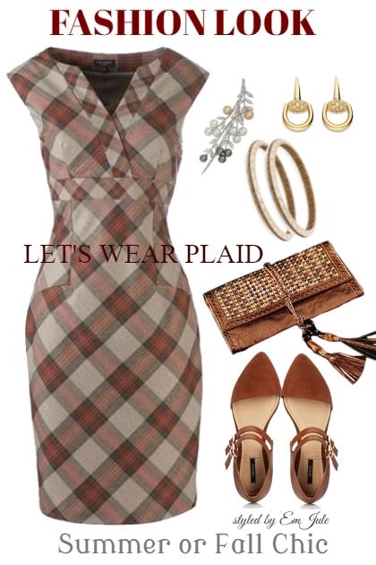 Let's Wear Plaid