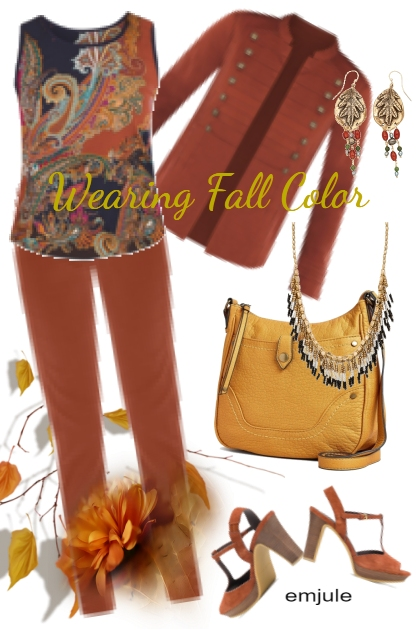Wearing Fall Color- Kreacja