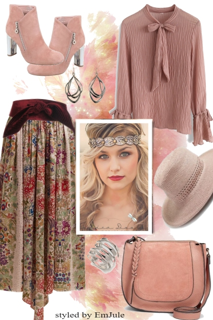 Dream in Pink and Brown