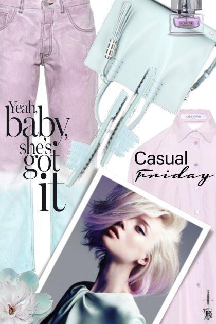 CASUAL FRIDAY- Modna kombinacija