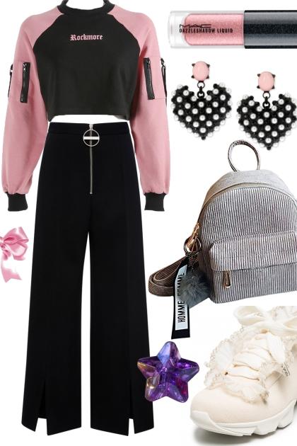 Q Pink Black