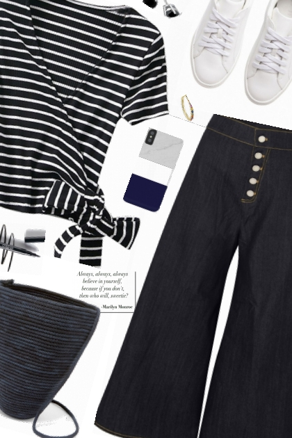 OOTD Navy Look- Fashion set