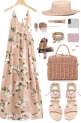 Get The Look. Floral maxi dress