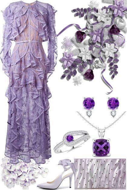 Purple Ruffles!