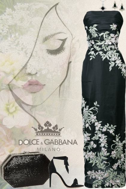 Beautiful Dolce & Gabbana Dress!