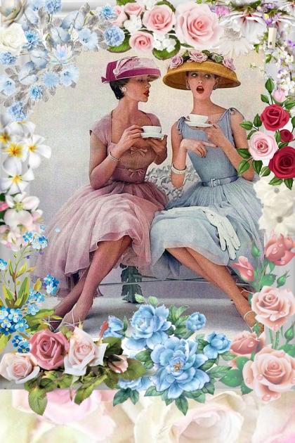 Best Friends Having Tea!