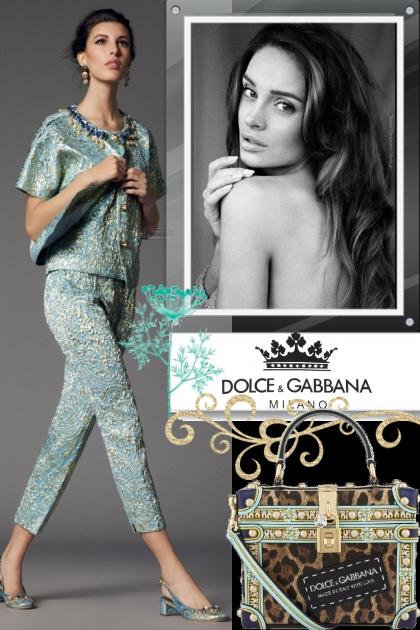August Dolce & Gabbana!
